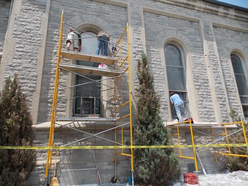 First Presbyterian Church Of Sandusky Azure Stained Glass